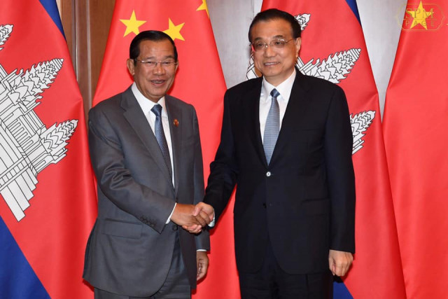 Hun Sen says China ready to counter EU trade threat