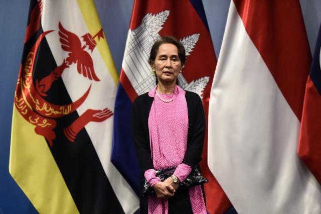 Myanmar's Aung San Suu Kyi visits Cambodia this week