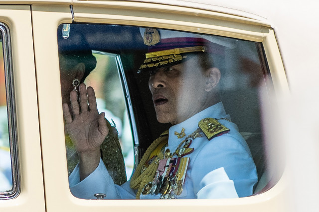Coronation begins for King Maha Vajiralongkorn, Rama X of Thailand