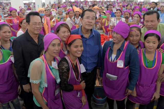 20 international companies air concerns with Hun Sen