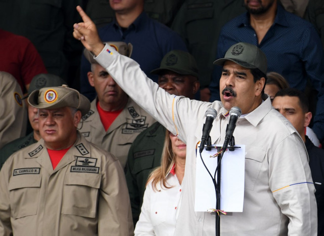Venezuela to strip immunity from lawmakers who backed coup bid