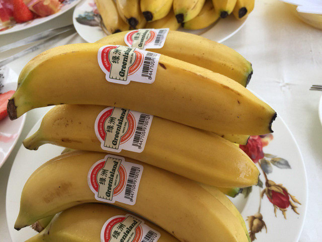 Cambodian yellow bananas officially enters Chinese market