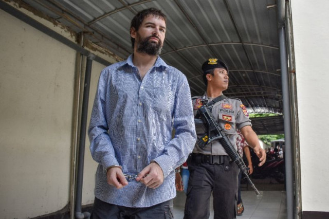 Indonesian court sentences French drug smuggler to death