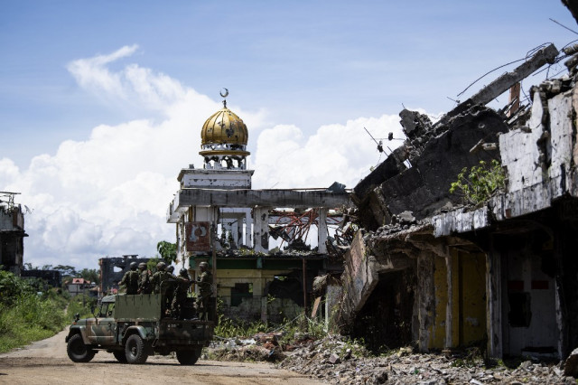 Shattered Philippine city a tool for jihadist recruitment