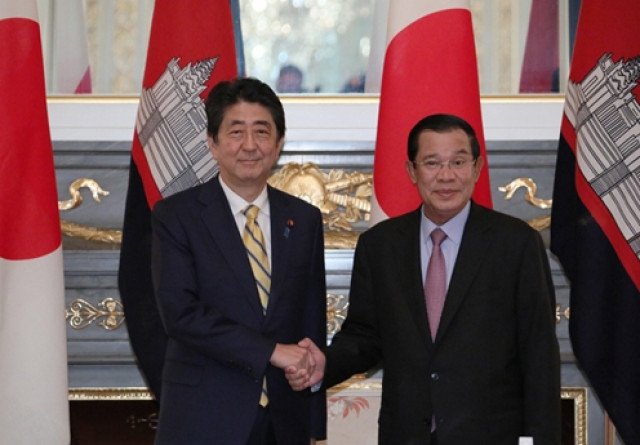 Hun Sen to visit Japan this week