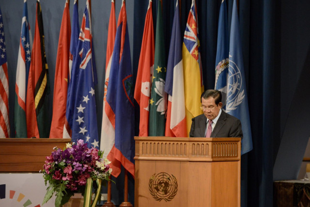Hun Sen credits win-win policy for rapid growth