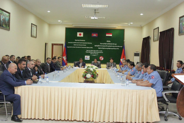 27 Iraqi mine action experts under training in Cambodia