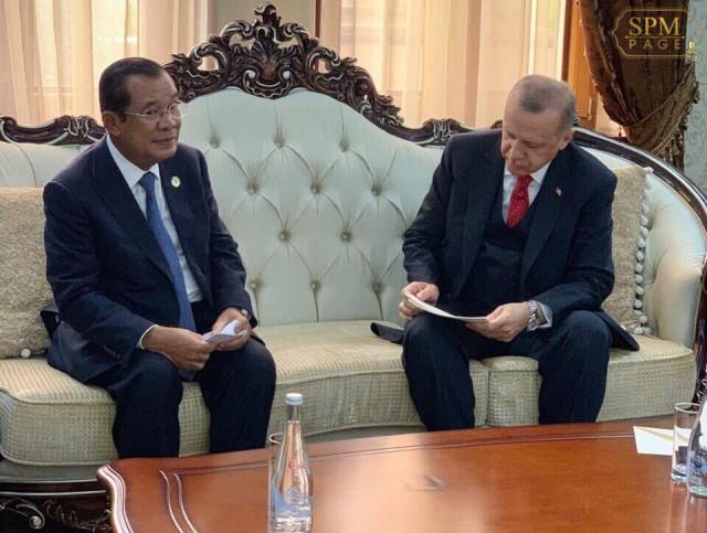 Hun Sen and Erdogan pledge to boost Cambodia-Turkey trade