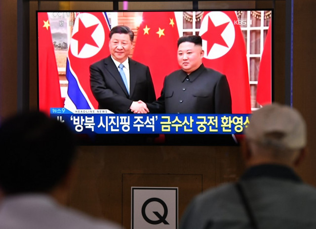 N. Korea lauds China ties as Xi wraps up trip
