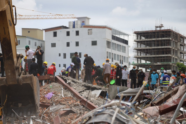 Spotlight turns on legal loophole following building collapse in Cambodian beach city