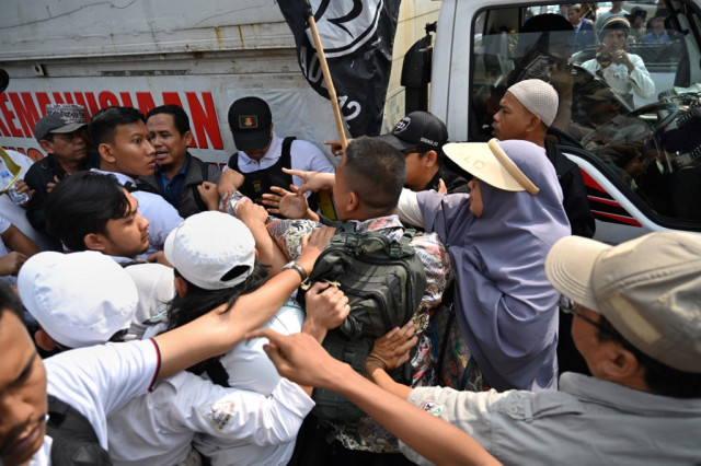 Heavy security as Indonesia court set to rule on election-rigging claims