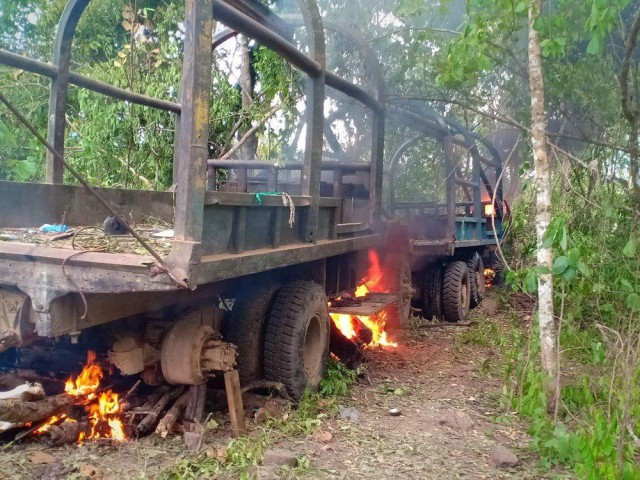 Almost 100 Vehicles Used for Forest Crimes are Destroyed