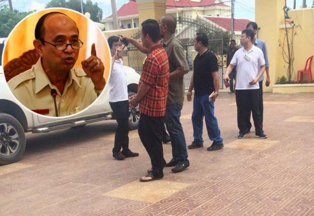 Three land officials arrested in Pursat