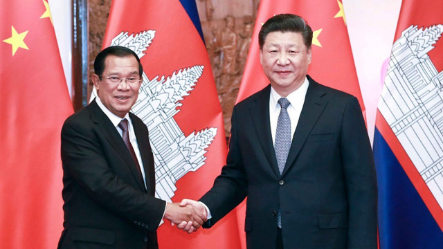 Hun Sen says another $40 mln allocated for Chinese weapons this year