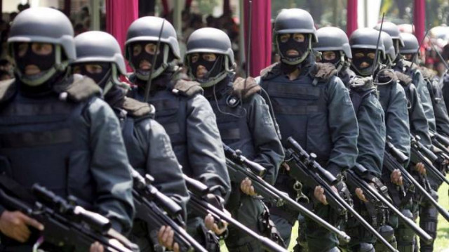 Indonesia launches new military elite unit to tackle terrorism