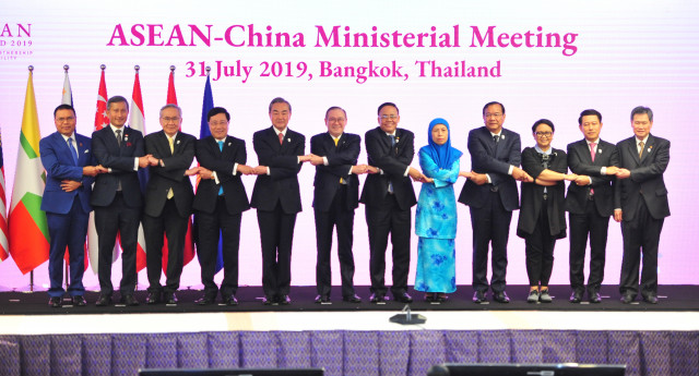 ASEAN FMs welcome efforts, progress on COC negotiations