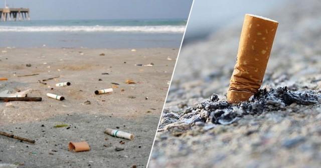 Cambodia's beaches grapple with cigarette butts