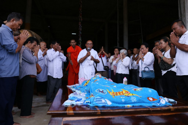 Mourners pay final respects to Khmer Rouge 'Brother Number Two'