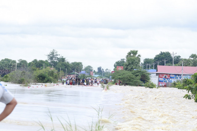 Four people killed in Cambodia flash floods