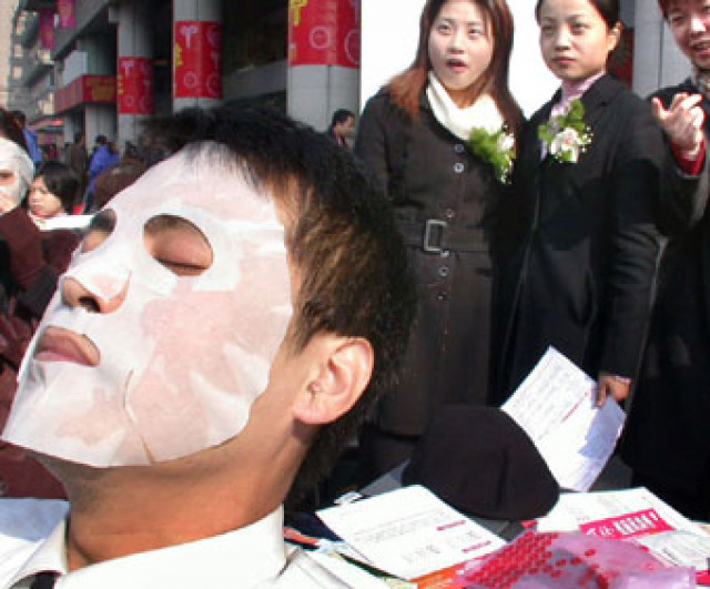 China Focus: Chinese men seek beauty under the knife