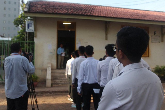 Annual high school graduation exams kick off in Cambodia