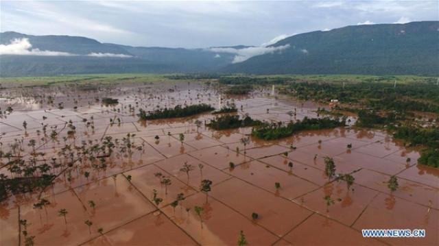 Floods wreak havoc in northern Laos