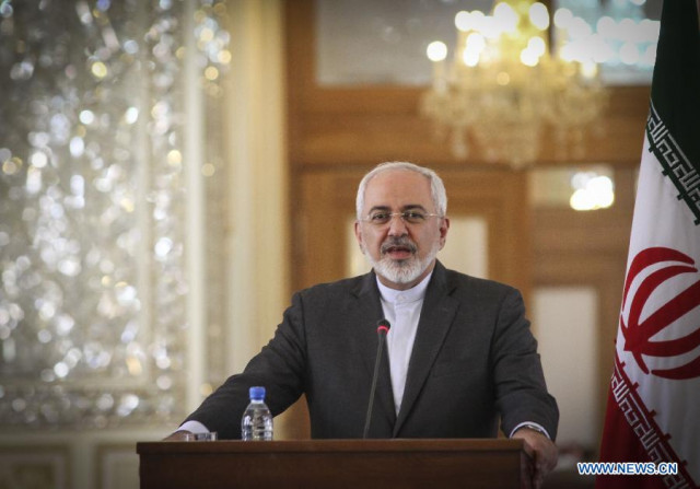 Iran hopes tensions in Middle East won't escalate further: Zarif