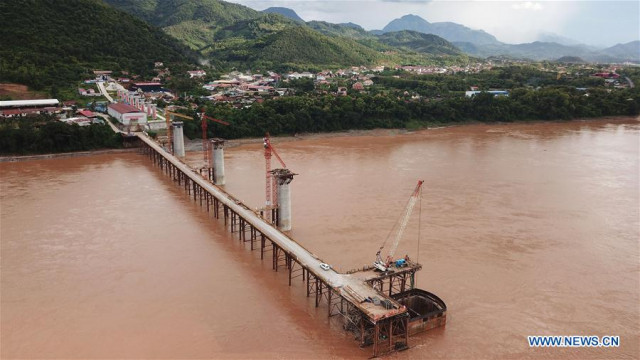 Mekong seen rising to alarm stage in Laos on Tuesday