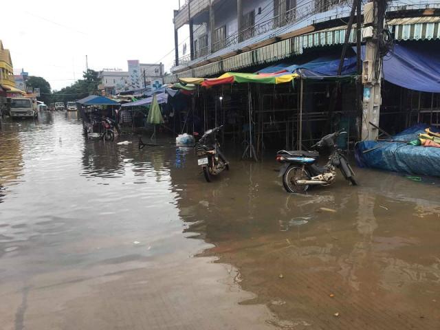 Stung Treng floodwaters seen receding over next five days