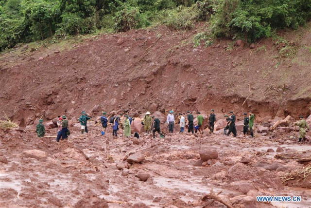 Floods, landslides kill 5, leave 3 missing in Vietnam