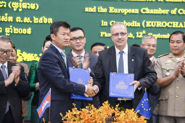 Cambodia and EuroCham join hands to combat counterfeit goods