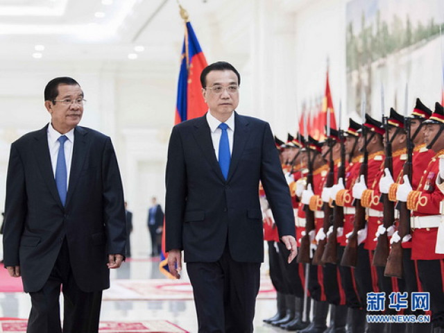 Interview: Cambodian gov't advisor sees China core force for world peace