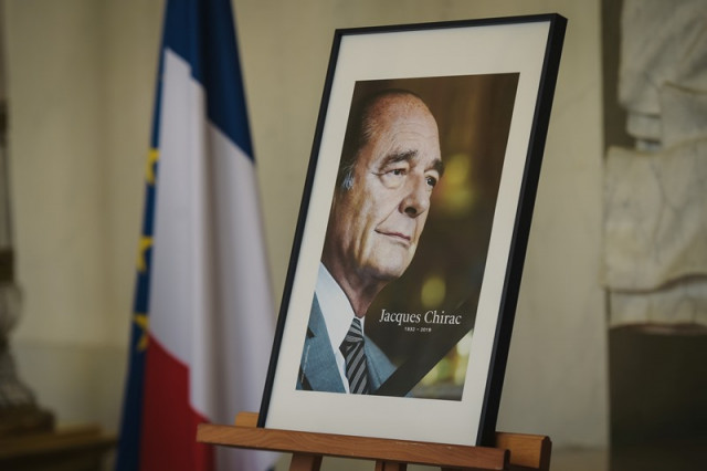 French prepare for final farewell to ex-president Chiracsident Chirac