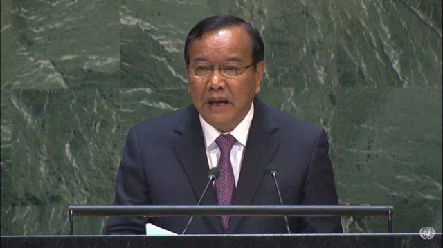 Cambodia Raises the Issue of Fake News at the UN General Assembly
