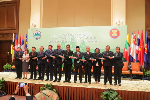 Asean Members Discuss Haze Pollution at Meeting in Cambodia