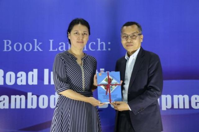 Book on China's BRI, its implications for Cambodia's development launched
