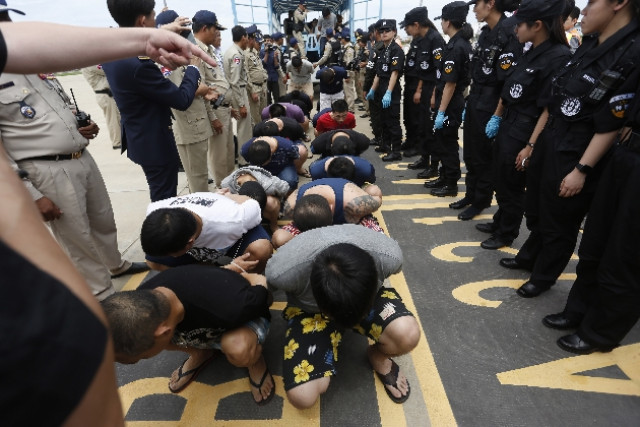 Police: More than 700 Chinese arrested in the last nine months in Cambodia
