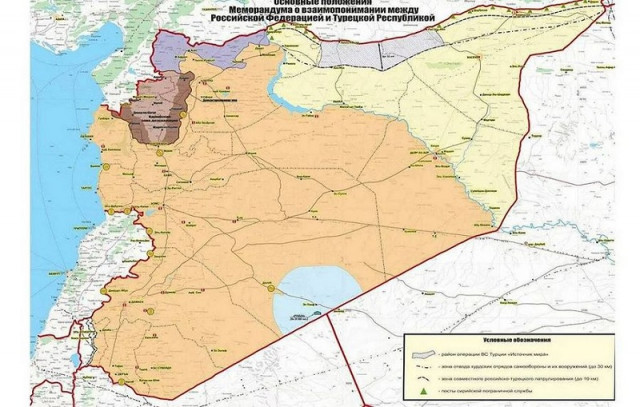 Russian forces begin to patrol safe zone in northern Syria