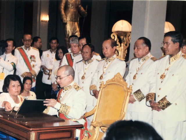 Cambodia Celebrates King Sihamoni's Accession to the Throne