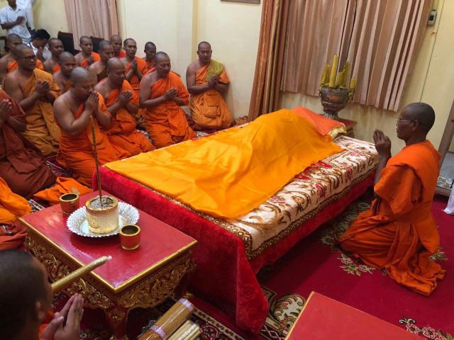 Senior Monk Samdech Luas Lay Dies at 106