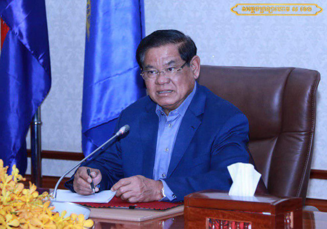 Sar Kheng orders tightening of security ahead of opposition leader Sam Rainsy's return