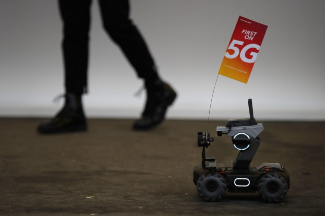 Huawei moving on 5G while politics plays out