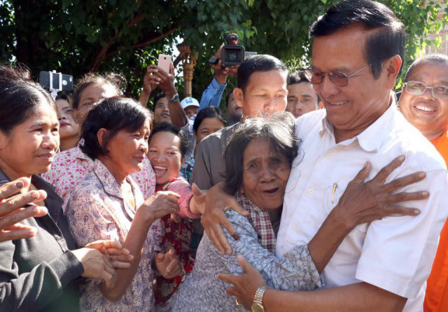 Daughter welcomes lifting of Kem Sokha's house arrest