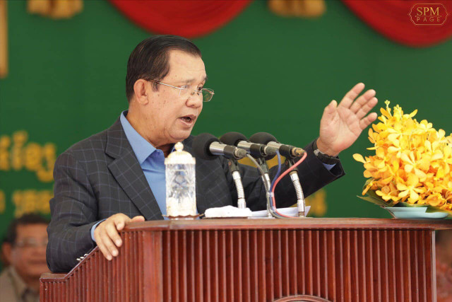 Hun Sen says Preah Sihanouk Province to become a financial hub such as Hong Kong