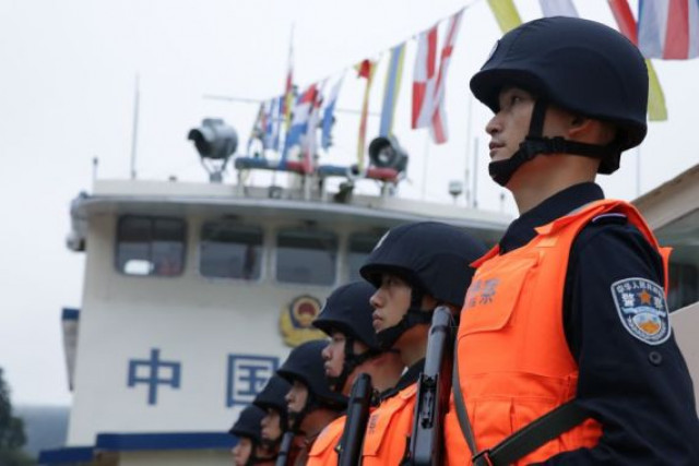 """China Focus: Joint patrols on Mekong revitalize """"golden waterway"""""""