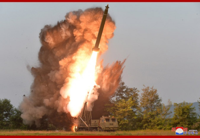 North Korea fires 'unidentified projectile': Seoul