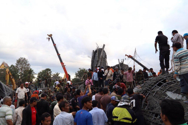Three People Killed at Pagoda's Construction Site in Siem Reap Province