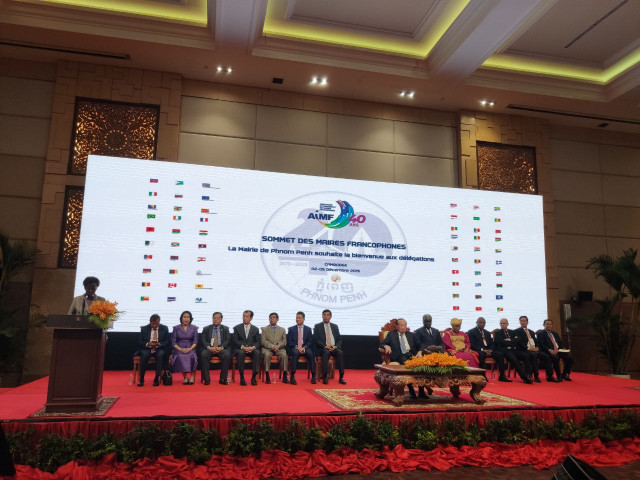 Mayors of Cities with a French Heritage Meet in Phnom Penh