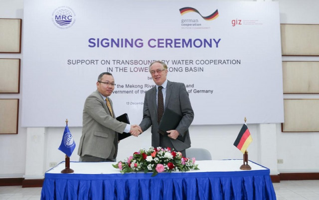 Germany provides €2 mln grant to Mekong River Commission