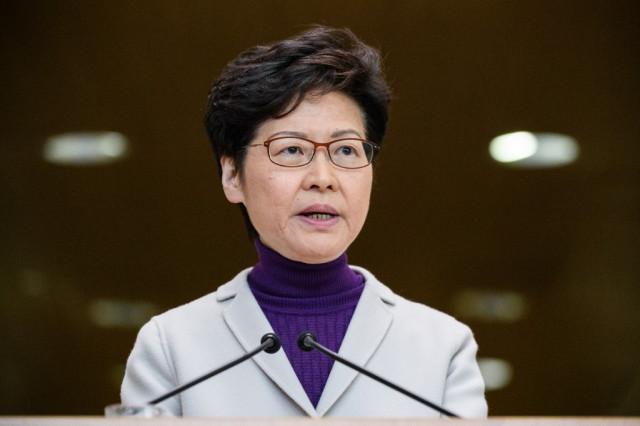 China gives Hong Kong leader 'unwavering support'